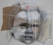 yesterdays child 3.  55 x 75 cms